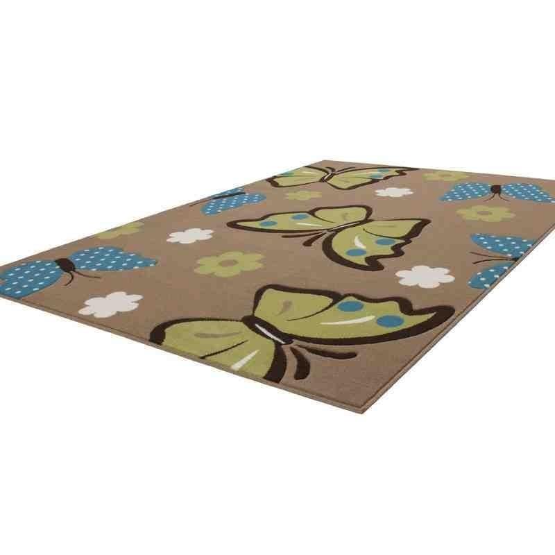 tappeto moderno bambini sona 2055 marrone