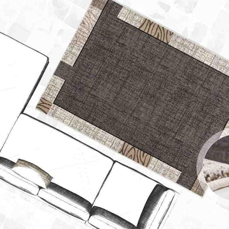 tappeto moderno geometrico switzerland bern argento