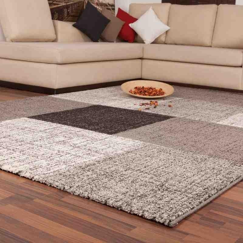 tappeto moderno patchwork switzerland geneva argento