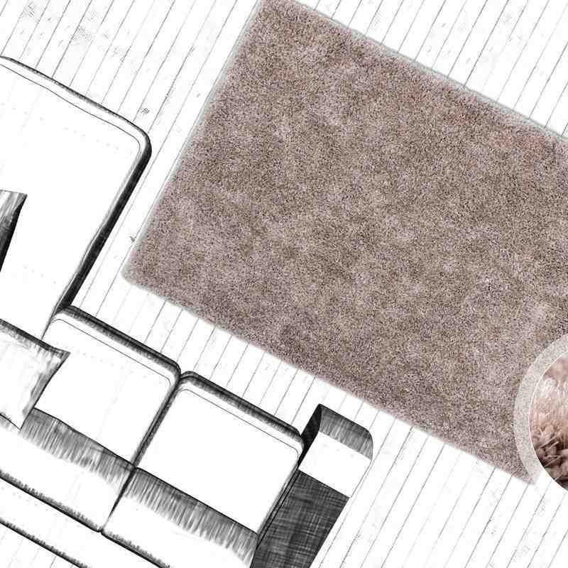 tappeto moderno tinta unita tanzania sansibar beige