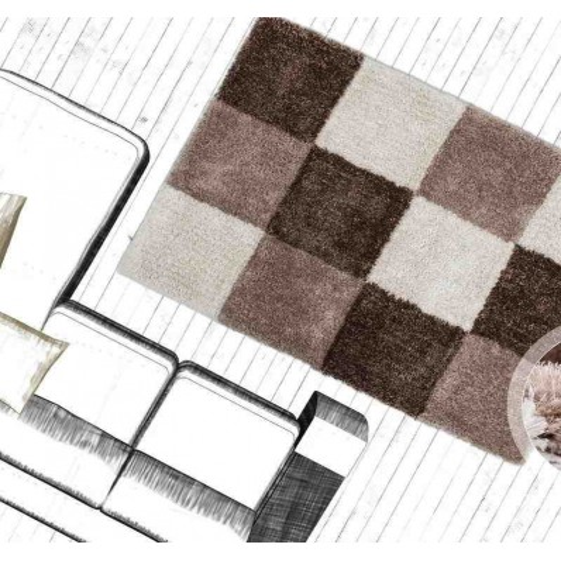 tappeto moderno geometrico tanzania kigoma torrone