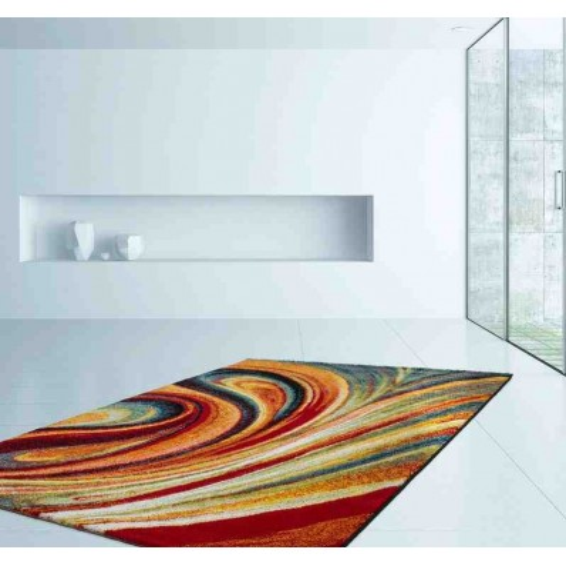 tappeto moderno fantasia thailand yala arcobaleno
