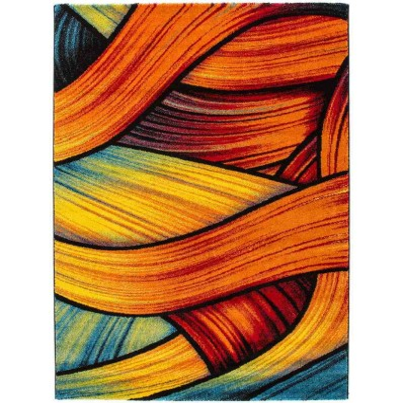 tappeto moderno fantasia thailand chiang mai arcobaleno