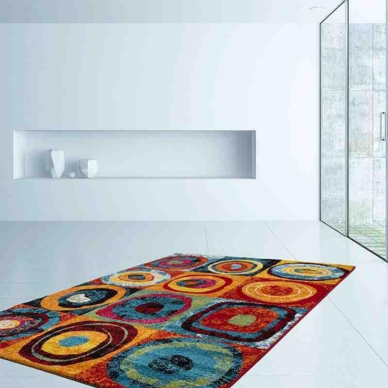 tappeto moderno fantasia thailand phuket arcobaleno