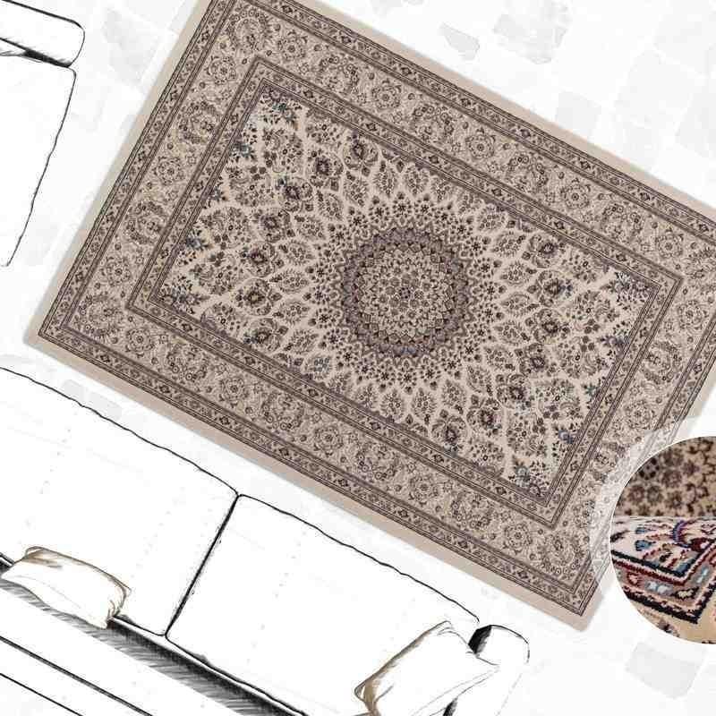 tappeto moderno classico tunisia tunis crema