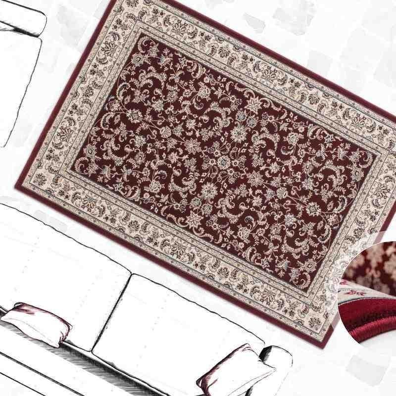 tappeto moderno classico tunisia monastir rosso
