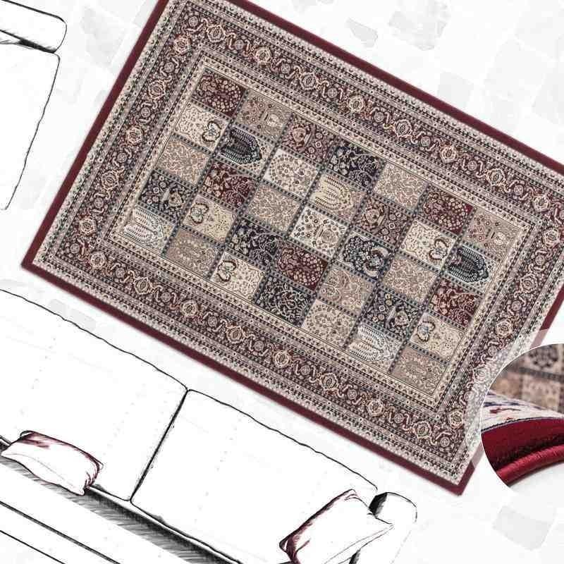 tappeto moderno classico tunisia ariana rosso