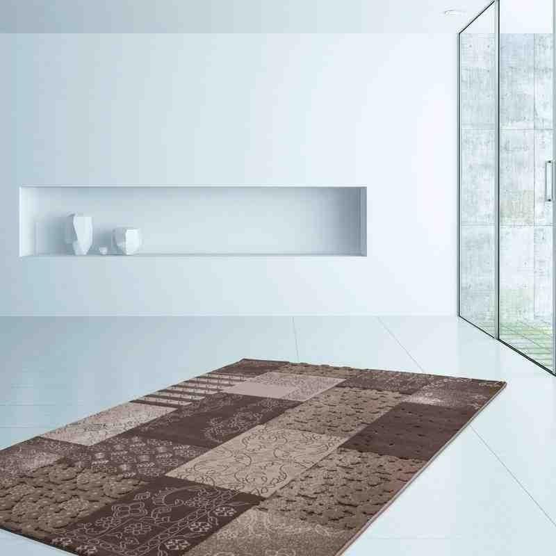 tappeto moderno patchwork turkey samsun visone