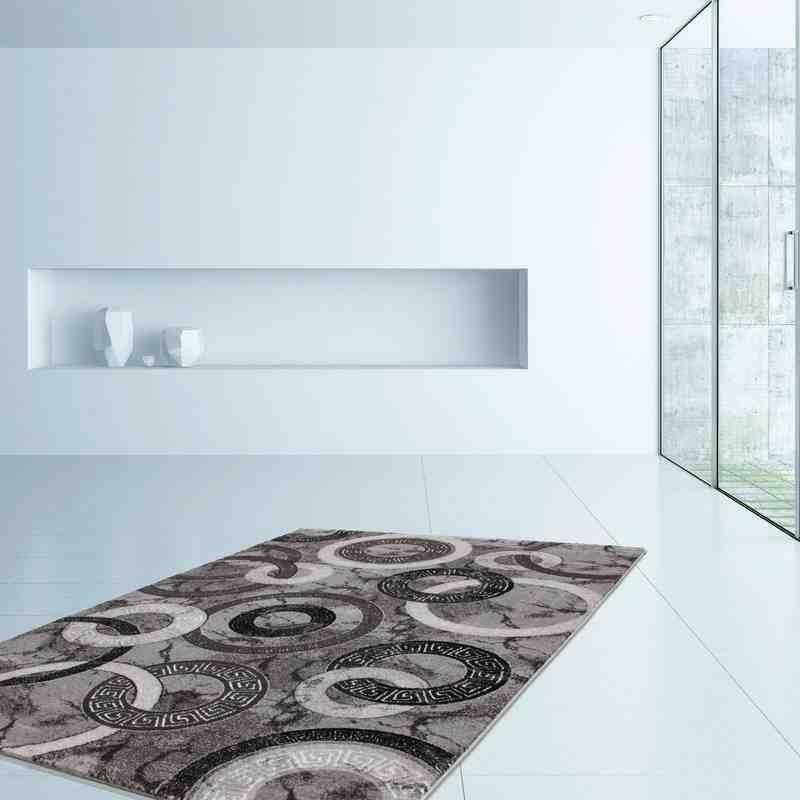 tappeto moderno classico ukraine kherson argento