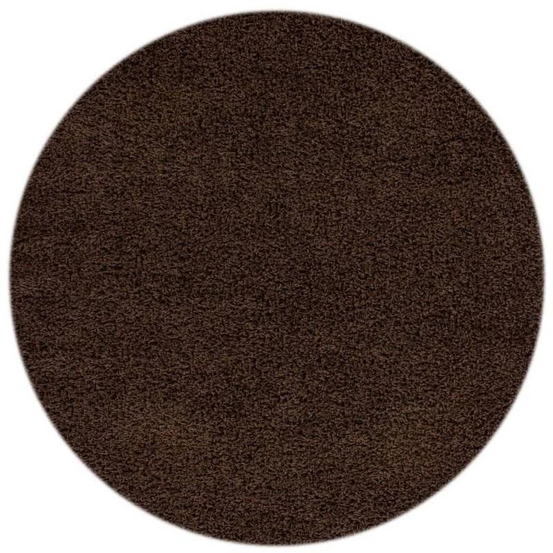 tappeto moderno tinta unita rotondo norway oslo moca