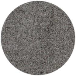 tappeto moderno tinta unita rotondo norway oslo argento