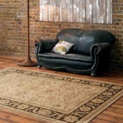 tappeto classico floreale Windsor WIN06 beige effetto antico