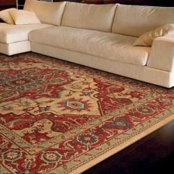 tappeto classico floreale Windsor WIN10 rosso effetto antico