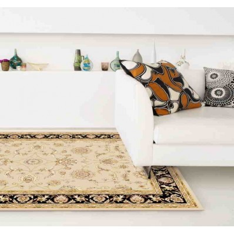 tappeto classico floreale Viscount V53 beige