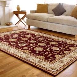 tappeto classico floreale Viscount V55 rosso