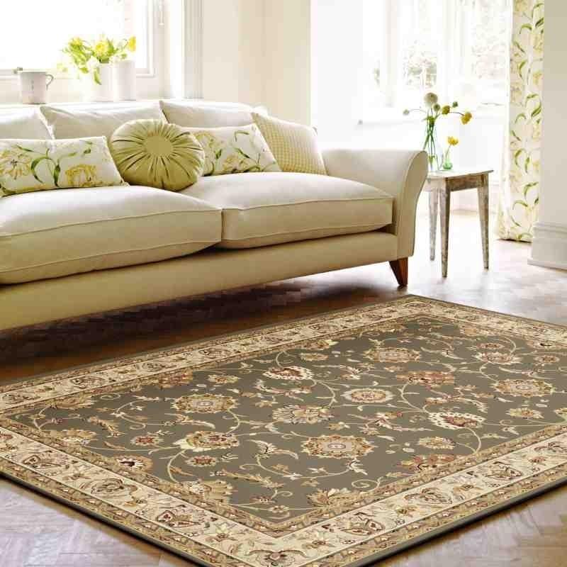 tappeto classico floreale Viscount V56 verde