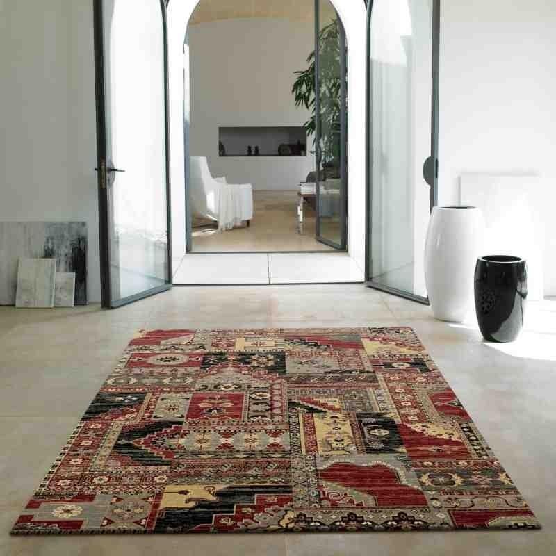 tappeto classico floreale Viscount V58 multicolor