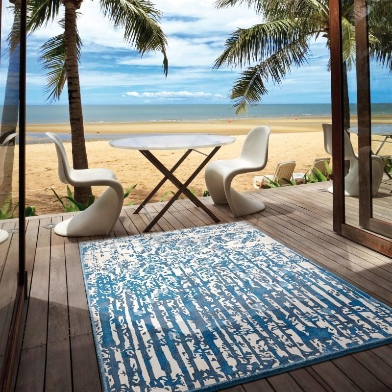 Carpet ALTAMAREA SITAP BLUE SETA fantasia da EUR 890.6