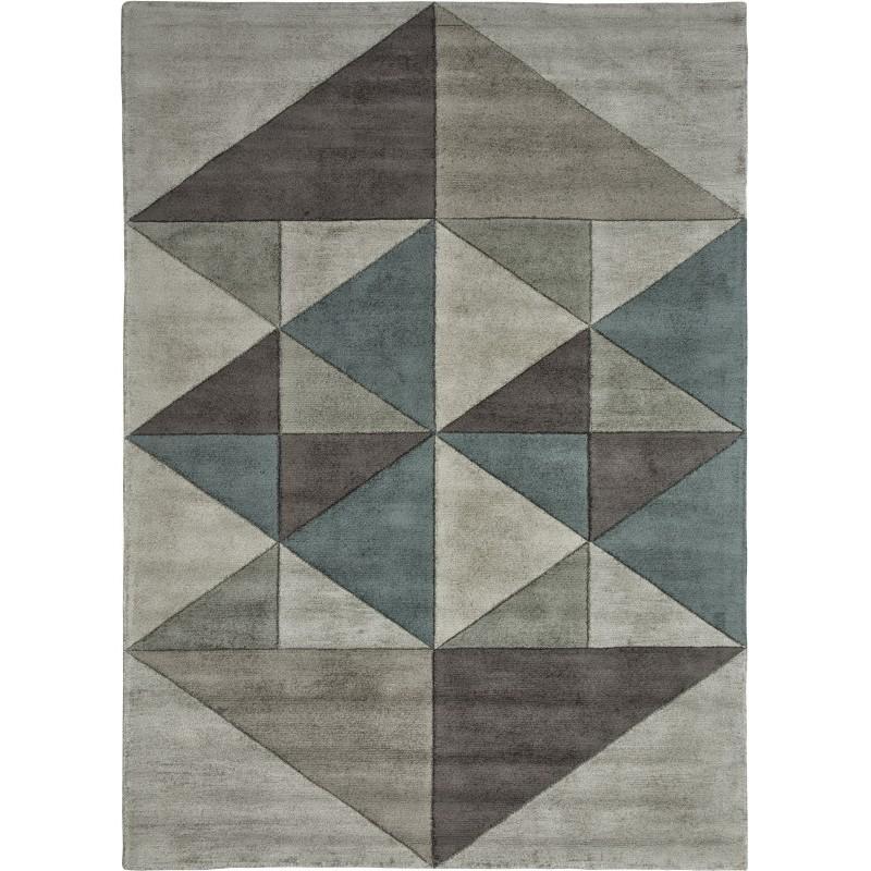 tappeto TRIANGLES SITAP CIELO SETA geometrico da EUR 872.3