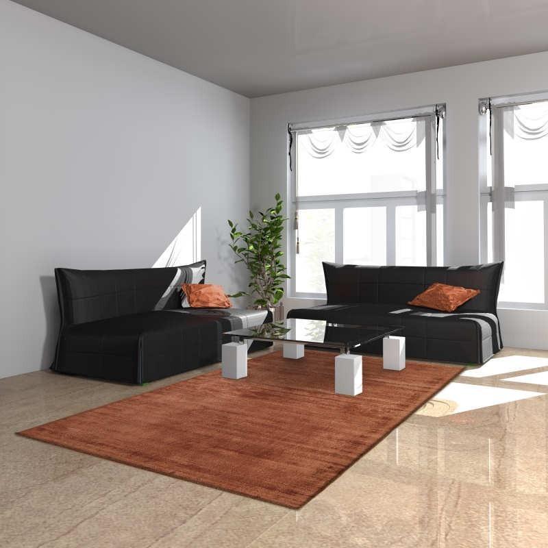 Tappeto moderno Blade Copper Asiatic Carpets
