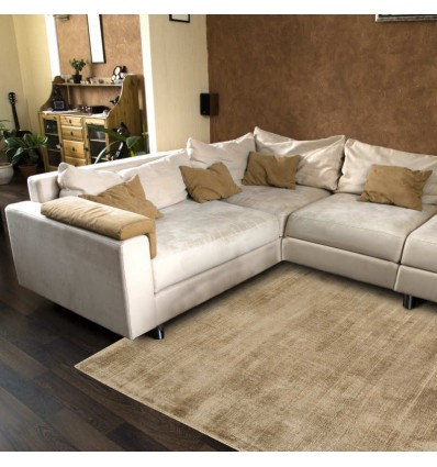Tappeto moderno Blade Soft Gold Asiatic Carpets