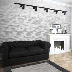 Tappeto moderno Blade Border Square Charcoal Silver Quadrato Asiatic Carpets