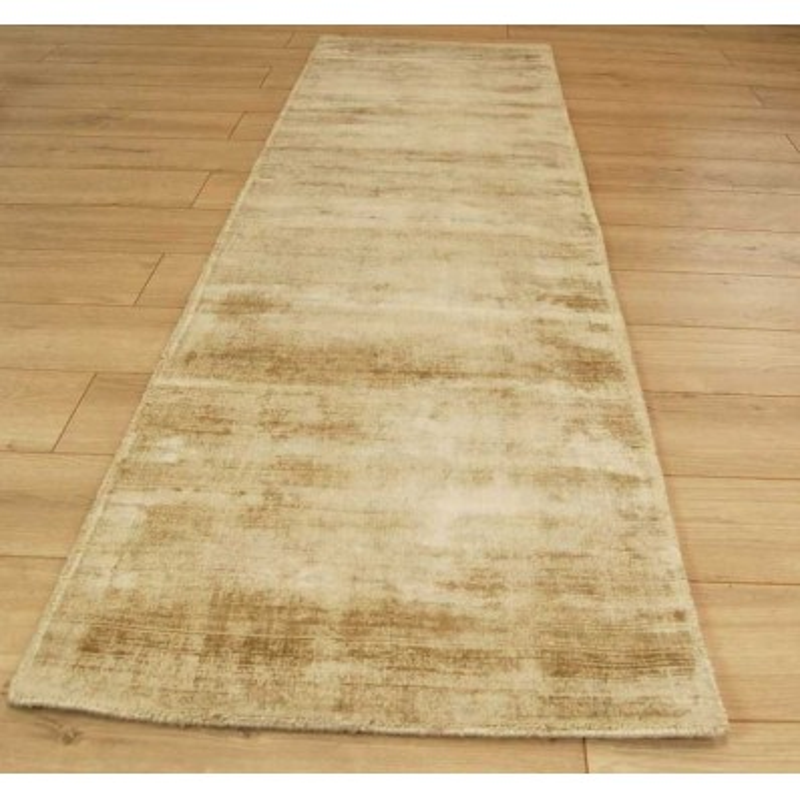 Tappeto moderno Blade Soft Gold Passatoia Asiatic Carpets
