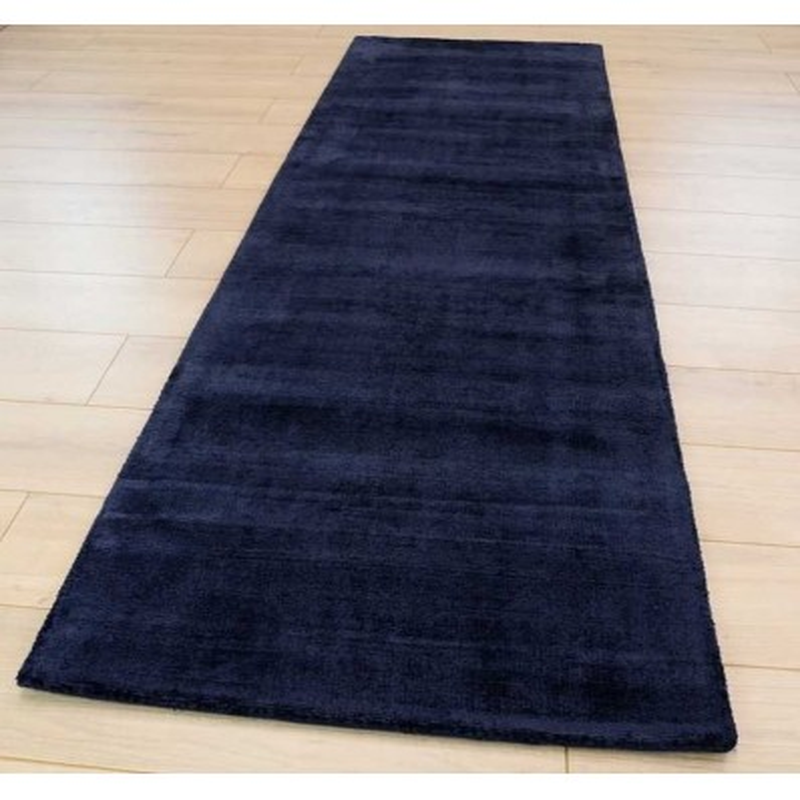 Tappeto moderno Blade Navy Passatoia Asiatic Carpets