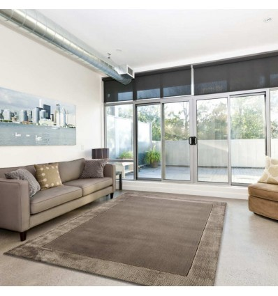 Tappeto moderno Ascot Taupe Asiatic Carpets