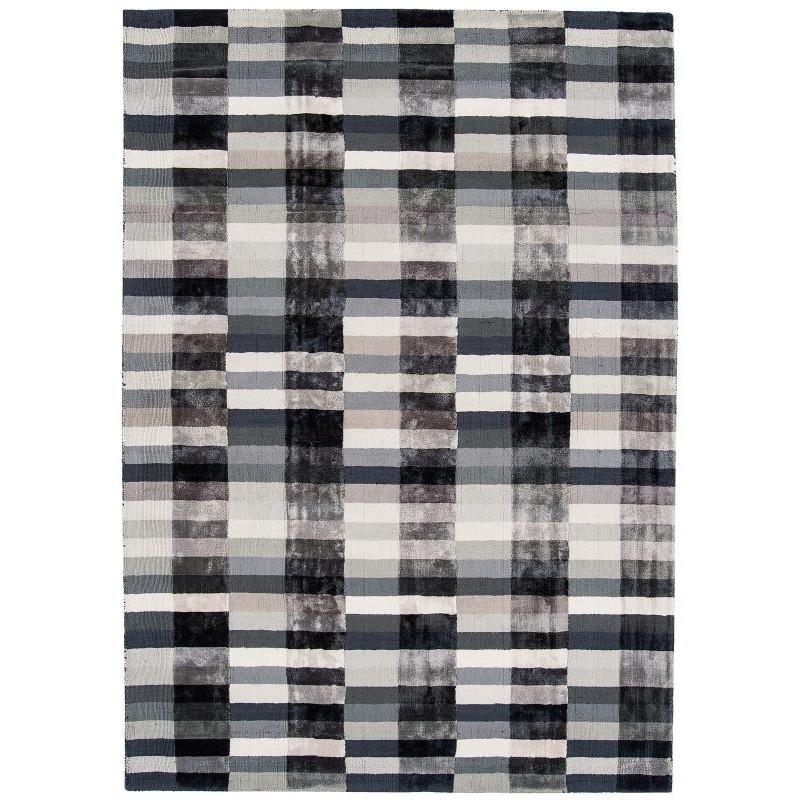 Tappeto moderno Deco Graphite Asiatic Carpets