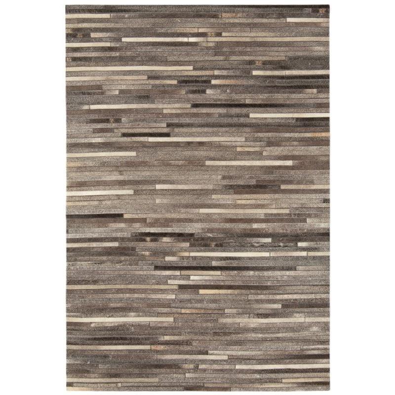 Tappeto moderno Gaucho Stripe Dark Grey Asiatic Carpets