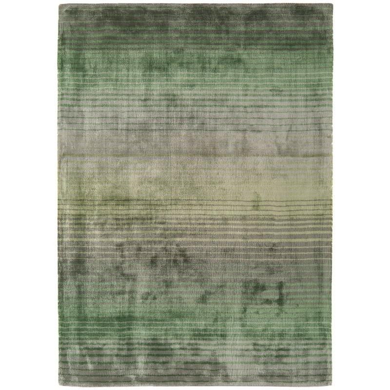 Tappeto moderno Holborn Stripe Green Asiatic Carpets