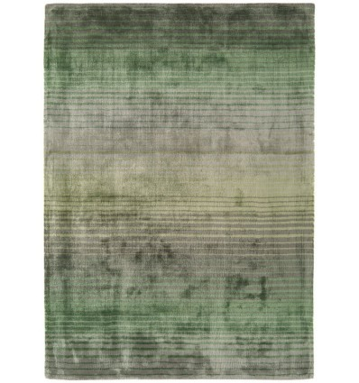 Tappeto moderno Holborn Stripe Green Asiatic Carpets