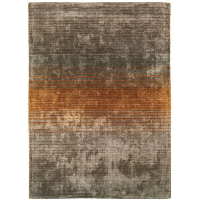 Tappeto moderno Holborn Stripe Orange Asiatic Carpets