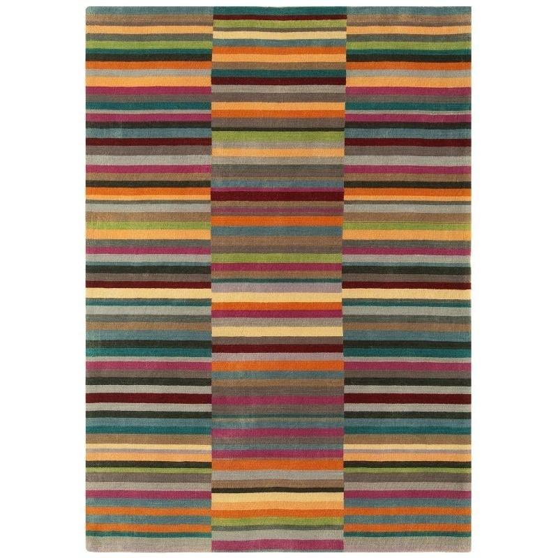 Tappeto moderno Jacob Stripe Multi Asiatic Carpets