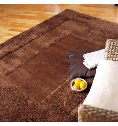 Tappeto moderno Karma Chocolate Asiatic Carpets