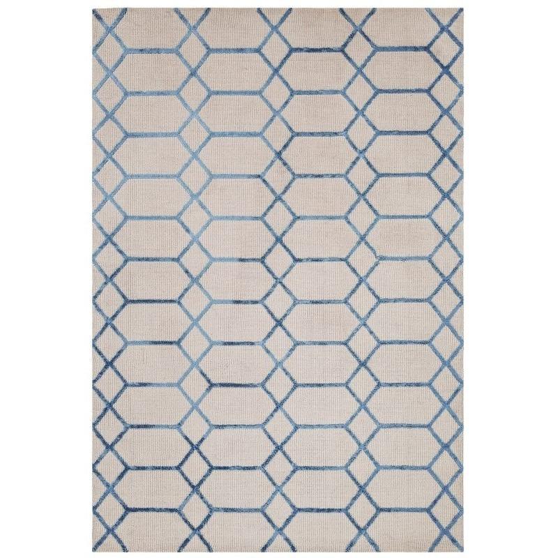 Tappeto moderno Koko Blue Asiatic Carpets