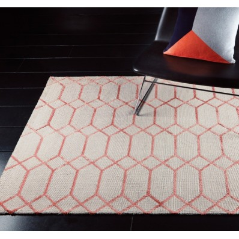 Tappeto moderno Koko Coral Asiatic Carpets