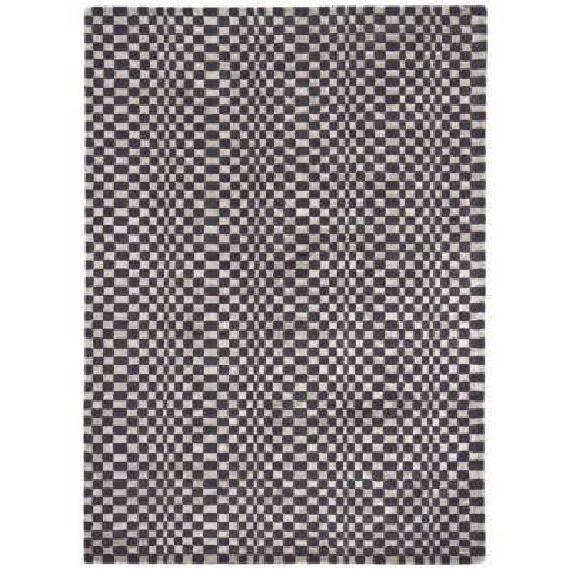 Tappeto moderno Oska Charcoal Asiatic Carpets