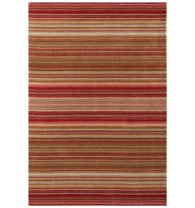 Tappeto moderno Pimlico Fine Stripe Red Asiatic Carpets