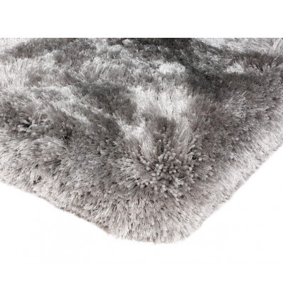 Tappeto moderno Plush Shaggy Silver Asiatic Carpets