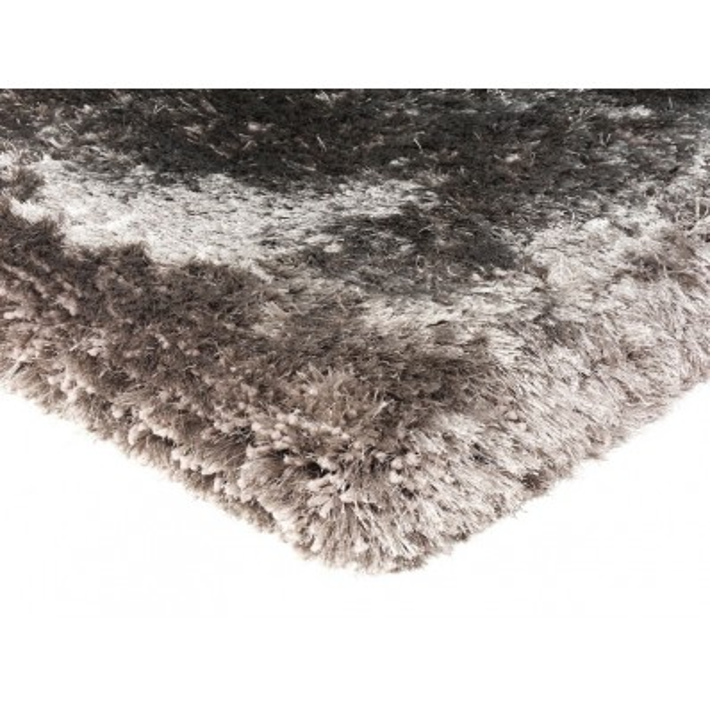 Tappeto moderno Plush Shaggy Zinc Asiatic Carpets