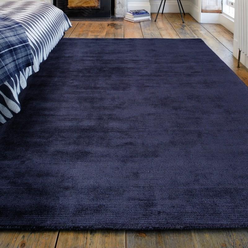 Tappeto moderno Reko Navy Asiatic Carpets