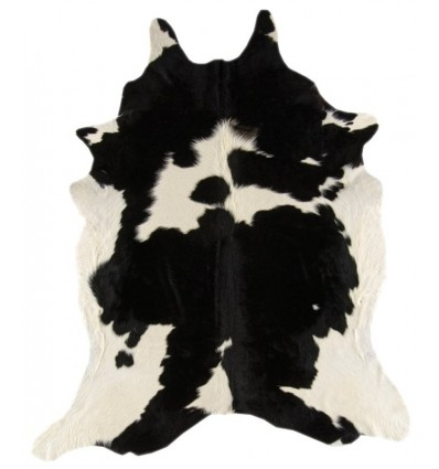 Tappeto moderno Rodeo Cowhide Black White Asiatic Carpets