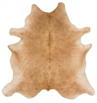 Tappeto moderno Rodeo Cowhide Solid Beige Asiatic Carpets