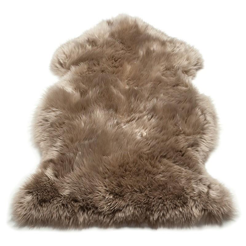 Tappeto moderno Sheepskin Taupe Asiatic Carpets