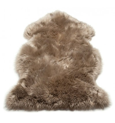 Tappeto moderno Sheepskin Taupe Asiatic Carpets