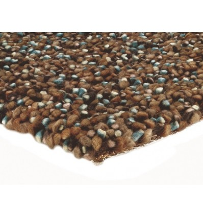 Tappeto moderno Tashen Chocolate Blue Asiatic Carpets