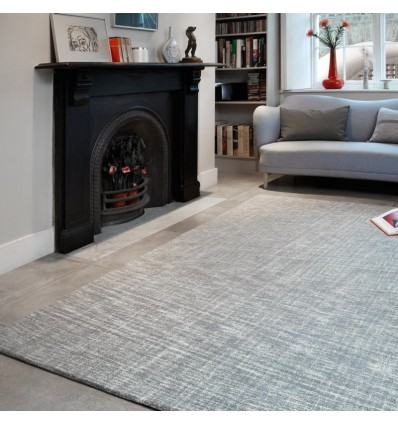 Tappeto moderno Tweed Silver Asiatic Carpets