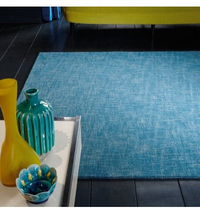 Tappeto moderno Tweed Teal Asiatic Carpets